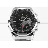 Buy cheap Steampunk Automatic Mechanical Wrist Watch Clock , Stainless Steel Bands product