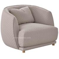Buy cheap Classical Design Fabric Sofa Single Seat or Love Seat Couch For Living Room `1 Seater/ 2 Seater. product