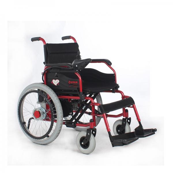 Indoor Outdoor Portable Folding Electric Wheelchair