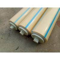 Buy cheap Fertilizer Industrial Conveyor Rollers Return Roller With Dustproof Cover and Labyrith Seal from wholesalers