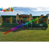 Buy cheap EN71 Awasome Sports Games Inflatable Corn Laser Maze  With Digital Painting Farm product
