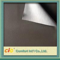 China Shrink - Resistant PVC Artificial Leather Knitted Fabric For Car Seat on sale