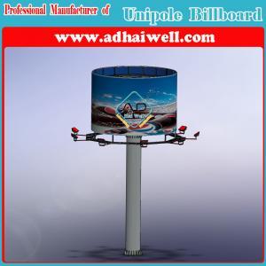 Buy cheap Double affichage de publicité latéral de panneau d'affichage de structure d'Unipole product