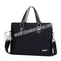 Buy cheap Custom Poker Casino Cheating Devices / Leather Man Handbag For Card Exchanger product