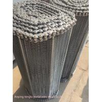 Buy cheap Custom Flat Wire Compound Balanced Belt 304 316 316l Stainless Steel Conveyor product