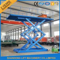 Buy cheap 3T 4.5M Hydraulic Mini Vehicle Scissor Car Lift Auto Lift For Parking product