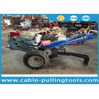 Buy cheap 5 Ton Double Drum Tractor Winch With Water-Cooled Diesel Engine For Cable Pulling product