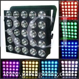 Buy cheap Lumières ultra-minces d'étape légère d'oeillère de 25X30W LED Matrix product