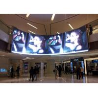 Buy cheap 5mm Pixel Pitch Curved LED Panels 1/16 Scan Constant Current Commercial LED Displays product