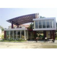 Buy cheap Two Storey Prefab Durable Flat Pack Container House Light Steel Material product