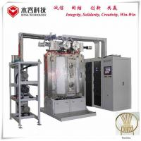 Buy cheap Furniture Gold Color Titanium Nitride Coating Machine Recycle Water Cooling from wholesalers