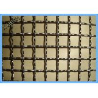Buy cheap 3/4in Aperture Vibrating Screen Wire Mesh Stinless Steel Strong Structure product