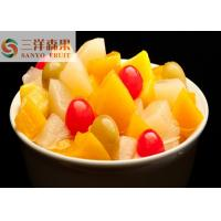 China 850ml 5 fruits Mixed Canned Fruit cocktail Healthy Canned Fruit in light syrup on sale
