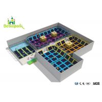 Buy cheap Safe Kids Indoor Trampoline Park Large Scale With Custom Made Design from wholesalers