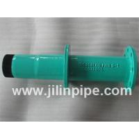 Buy cheap ductile iron pipe fittings, flange spigot pipe with puddle flange product