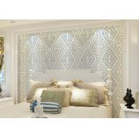 Buy cheap Wet Embossed Nonwoven Modern Removable Wallpaper Geometric Sound - Absorbing product