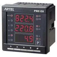 Ac Panel Meters : Ac single phase digital panel meters mount