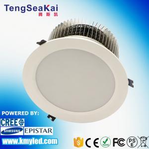Buy cheap El poder más elevado de iluminación comercial del diámetro 200mm/225mm/270m m de la forma redonda ahuecado llevó el downlight 60W 80W 100W product