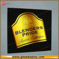 China Blenders Pride Block Out Acrylic Lighted Led Sign Light Box Display wholesale