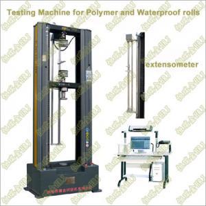 Buy cheap WDW-G2/G5/G10/G20 polímero máquina de testes elástica impermeável de Rolls/membrana product