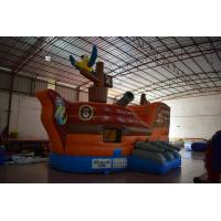 Buy cheap Small Inflatable Pirate Ship For Children / Fire Resistence Inflatable Jump from wholesalers