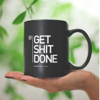 China Get Shit Done Innovitive Personalized Coffee Mug For Childrens on sale