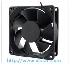 Buy cheap 80*80*25mm 12V/24V/48V DCの黒のプラスチック ブラシレス冷却ファンDC8025 product