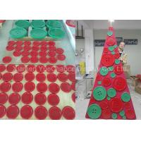 Buy cheap Simple Style Shop Display Christmas Decorations Xmas Tree Made From Resin Buttons product