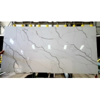 Buy cheap Rectangular 7% Resin Quartz Stone Countertops For Bathroom product