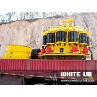 Buy cheap 160kw Hydraulic Coarse Stone Crusher Plant Stone Quarry With Simens Motor product