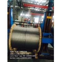 China ASTM B232 BS 215 Aluminum Cable ACSR Conductor / Overhead Line Conductor on sale