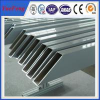 Buy cheap aluminum tube anodized colored/ Custom aluminum profile tube/ aluminum alloy profile tube product