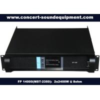 High Stability Switch Mode Amplifier 2x2400W FP 14000 For Living Show And Concert
