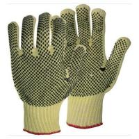 Buy cheap Twill Fabric Gloves With Pvc Dots On Palm Gardening Glove product