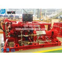 Buy cheap End Suction Diesel Engine Driven Fire Pump Set Horizontal Firefighting Use from wholesalers