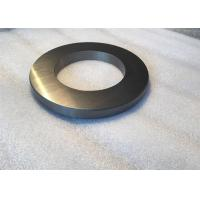 Flat Tungsten Carbide Roll Rings Ribbed Surface , Tungsten Carbide Parts For High Speed Wires