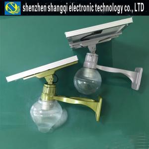 China 12W High Efficiency Solar Garden Lights Intelligent Control Simple Maintenance wholesale