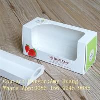 Buy cheap Gift 350g White Display Paper Box For Chocolate Packaging With Window from wholesalers