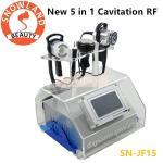 Buy cheap Portable 5 in 1 RF Skin Tightening Cavitation Ultrasonic Vacuum RF Bio Slimming Beauty Machine product