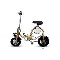 12  Inch Lithium Battery Powered Mini Electric Bicycle With Portable Collapsible Frame