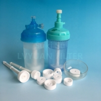 Buy cheap Round wheel Medical use Sintered Microporous polyethylene PE Air Oxygen foamer filter for humidifier bottle accessories product