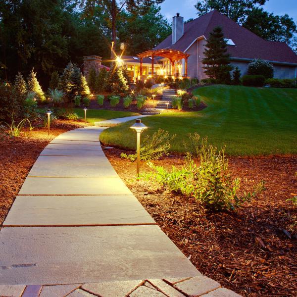 High Power Outdoor Landscape Lighting Led Garden Outdoor
