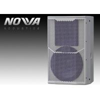 Buy cheap Black Powered Passive Pa Speakers Lightweight With 18mm Thick Plywood product
