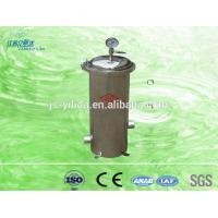 China Industrial Water Inline Water Filters With Refillable Cartridges Housing on sale
