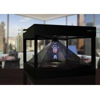 Buy cheap Holographic Pyramid 3D hologram box for Product Presentation , View from 4 Sides product