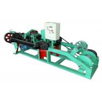 Buy cheap High Speed Barbed Wire Machine Reliable Operation For National Border Lines product
