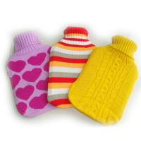 Quality Hot Water Bottles Cover Beautiful Knitted Covers Cute Lovely for sale