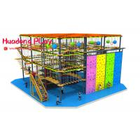 Buy cheap Attractive Indoor Adventure Playground Professional With CAD Instruction product