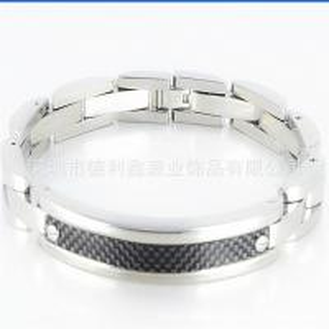 China With Carbon Fiber Bracelet arc stainless steel bracelet and fashion titanium bracelet custom manufacturers procurement on sale