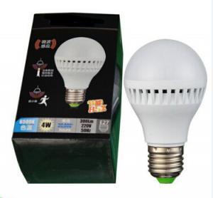 Buy cheap LED Plastic Tube with Radar sensor 4W 7W E27 B22 new technology led lamps emergency led motion sensor light product